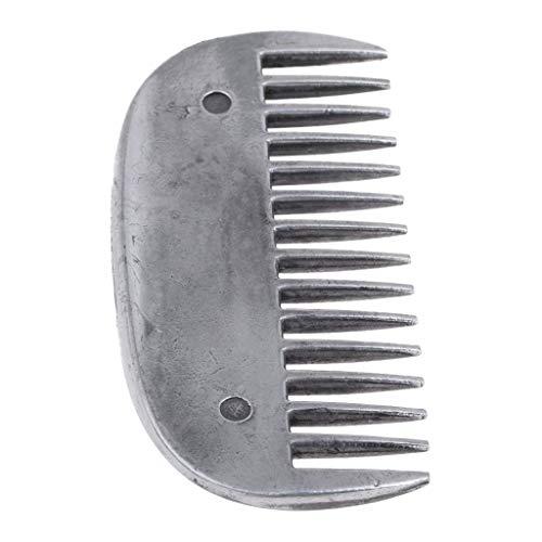 SGerste Robuster Metall-Striegel für Pferde, Pony, Mähnenschwanz, Körper, Haarpflege-Werkzeug