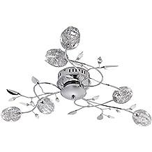Leuchten Direkt 11768-17 - Plafoniera in metallo a 6 lampade G4 14 W