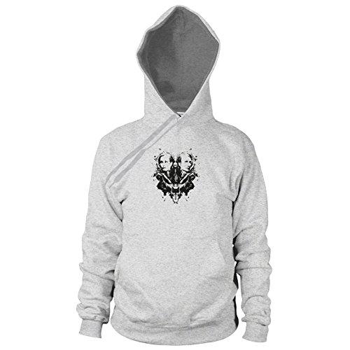 Lecter Splash - Herren Hooded Sweater, Größe: L, Farbe: grau meliert