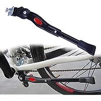 """Gasea Soporte para el Mediopié de la Bicicleta de Montaña, Aluminio Soporte Ajustable del Retroceso de Bici Caballete Bicicleta para 22""""24"""" 26""""700c Tire Cycling Road Bicicleta Negro"""