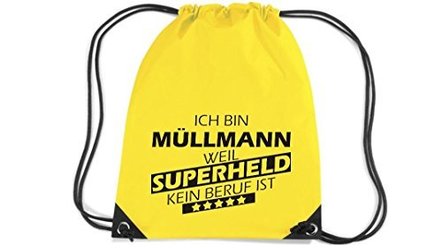 shirtstown-premium-saco-de-gimnasia-estoy-basurero-weil-superheld-sin-trabajo-ist-amarillo-33-cm-x-4