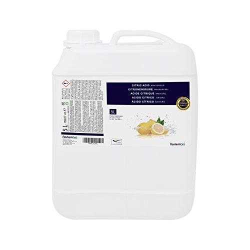 ^ Acido Citrico 5 L, Premium Quality, liquido concentrato, per la produzione biologica. NortemBio. Sviluppato in Italia. lista dei prezzi