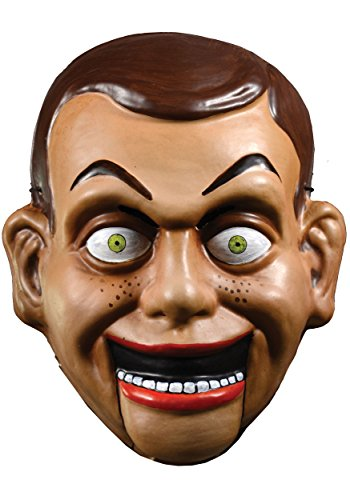 Adult Goosebumps Slappy the Dummy Vacuform Mask Standard (Dummy Puppe Kostüm)