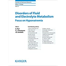 Disorders of Fluid and Electrolyte Metabolism: Focus on Hyponatremia (Frontiers of Hormone Research Book 52) (English Edition)