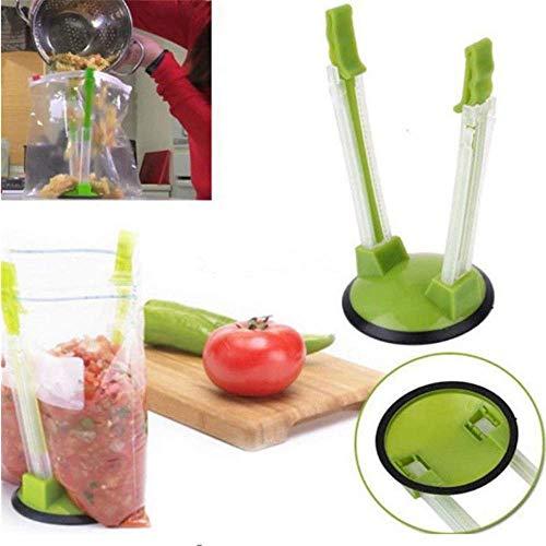 Baggy Sandwich Racks Holder?Food Storage Bags Clip -Ideal Kunststoff Küche Gadget, Keine hassle Kochlösungen - Ziploc-beutel-halter