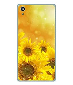 PrintVisa Designer Back Case Cover for Sony Xperia Z3+ :: Sony Xperia Z3 Plus :: Sony Xperia Z3+ dual :: Sony Xperia Z3 Plus E6533 E6553 :: Sony Xperia Z4 (Sun Flower Blooming In The Sun)