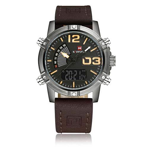 xisnhis schöne Uhren naviforce / 9095 männer hat doppel - Display - Sport - wasserdicht Quarz - Uhr