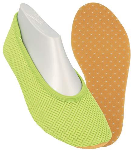 Beck AirBecks 026, Unisex-Kinder Gymnastikschuhe, Grün (apfel 09), EU 30 (Große Füße Kostüm Schuhe)
