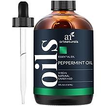 ArtNaturals Pure Peppermint Essential Oil - 100% Pure and Natural Premium Therapeutic Grade Mentha 4 oz.