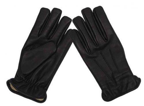 Lederhandschuhe Safety (Schwarz/L) ()