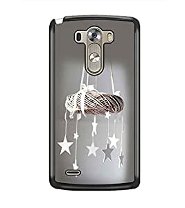 PrintDhaba Wind Chimes D-2314 Back Case Cover for LG G3 (Multi-Coloured)