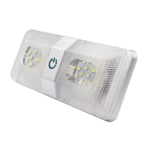 VISLONE Luce LED Impermeabile, Luce interni auto (Lampada Plafoniera)