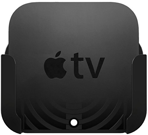 Innovelis TotalMount - Soporte para el Apple TV 4 con adaptador para el antiguo Apple TV 2 y 3, Negro