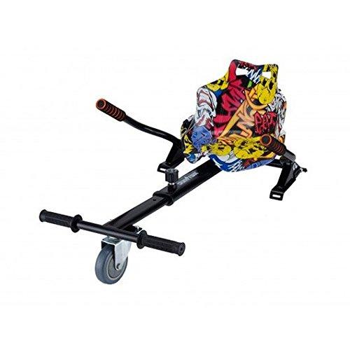 Skateflash Graffity Hoverkart - Asiento Kart Compatible con Todos los Modelos, Adultos Unisex, Regulable