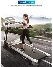 Endless TM-505 Blend (2.0 HP Peak) Motorized Treadmill-Max Speed 14km/hr (Black/Pearl Silver)