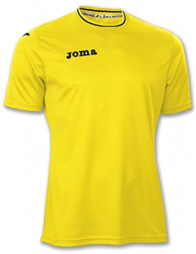 Joma 100013.900 - Camiseta de equipación de Manga Corta para Hombre, Color Amarillo, Talla M