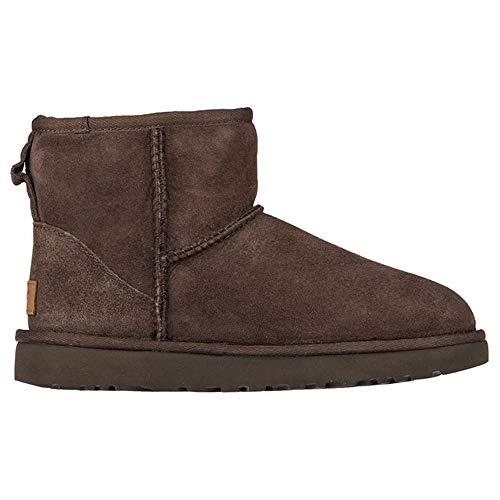 UGG Damen Mini Classic Hohe Sneakers, Braun, 37 EU -