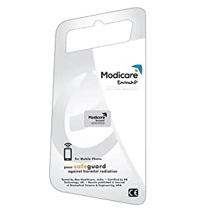 Modicare Enviro Anti-Radiation Chip Protection from Mobiles, Tablets, Laptops BK WITH FREE CARD READER