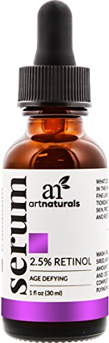 ArtNaturals Retinol Serum mit Vitamin C und Hyaluronsäure – Naturrein - 30 ml
