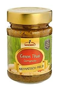 "Sanchon Currypaste ""Green Thai"" (190 g) - Bio"
