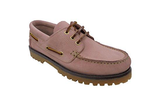 Sachini , Damen Bootsschuhe, rot - Rosa - Größe: EU 38