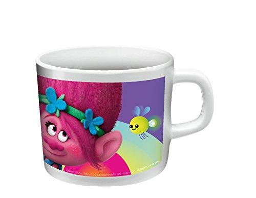 Trolls Trink-Becher Tasse aus Melamin 180ml (Recycling Kostüme Für Kinder)