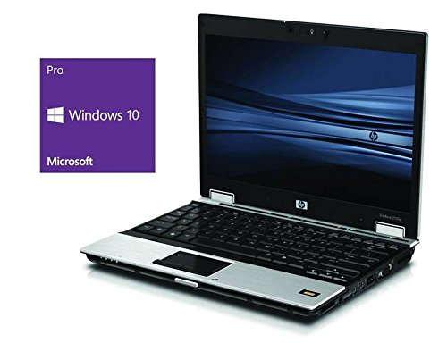 HP Elitebook 2530p Notebook | 12.1 Zoll Display | Intel Core 2 Duo L9400 @ 1,86GHz | 4GB DDR2 RAM | 120GB SSD | DVD-Brenner | ohne Betriebssystem (Generalüberholt) 1.86 Ghz Notebook