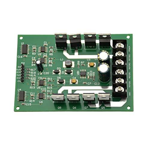 Hemobllo Dual-Motor-Treibermodul Board H-Brücke DC-MOSFET IRF3205 3-36V 10A Spitze 30A