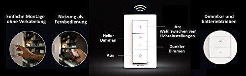Philips Hue Wireless Dimming Schalter, komfortabel dimmen, ohne Installation 8718696506967 - 7