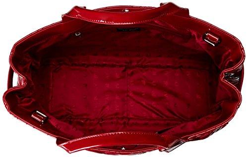 Armani - 9225916A752, Borsa shopper Donna Rosso (Rot (BORDEAUX 00176))