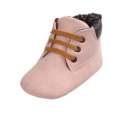 Minuya Neugeborenes Säugling Baby Jungen Klassische Casual Krippe Schuhe Weiche Sohle Stiefel - Klassische Krippe Schuhe