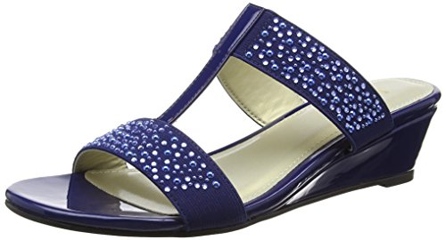 Lotus - Binnie, Scarpe spuntate Donna Blue (navy Shiny)
