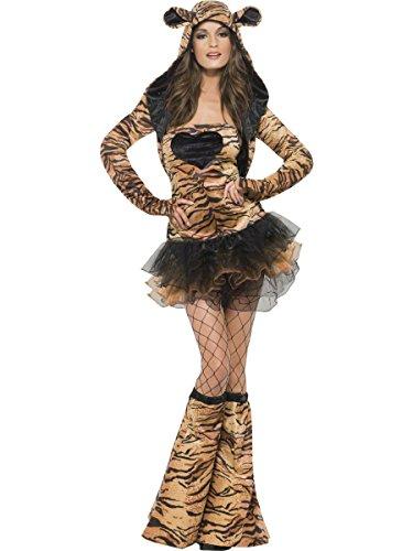Costume Carnevale Donna Animale Tigre Tutu' *17524-M