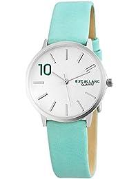Excellanc 195023500176 - Reloj de pulsera mujer, varios materiales, color verde
