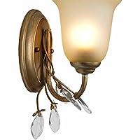 BBSLT-Stile europeo parete lampada lampada da comodino camera da letto,