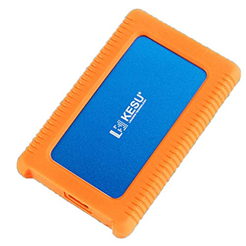 GXLO Externe Festplatte Mini USB 3.0 Portable 2,5-Zoll-Schock-, Drop- und Crush-resistent für PC und Mac,Blue,160GB -
