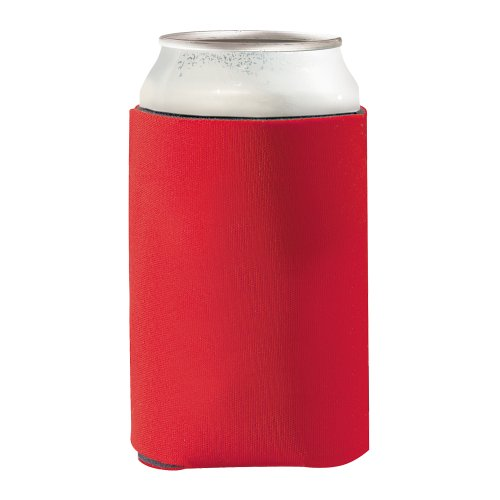 Schaum Kühler (eBuyGB KO Ozie Isolierte kann/Getränke Kühler, Schaum, rot, 13.41X 11,2x 5cm)