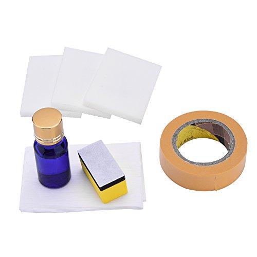 lennonsi 10ML Scheinwerfer Reparatur Set Scheinwerfer Polierset für Politur Klarsicht Reinigung