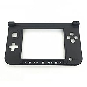 GOZAR Ersatz Scharnier Teil Schwarz Unteren Mittleren Gehäuse Für Nintendo 3Ds XL