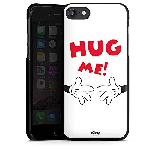 Apple iPhone X Silikon Hülle Case Schutzhülle Disney Mickey Mouse Fanartikel Geschenk Hard Case schwarz