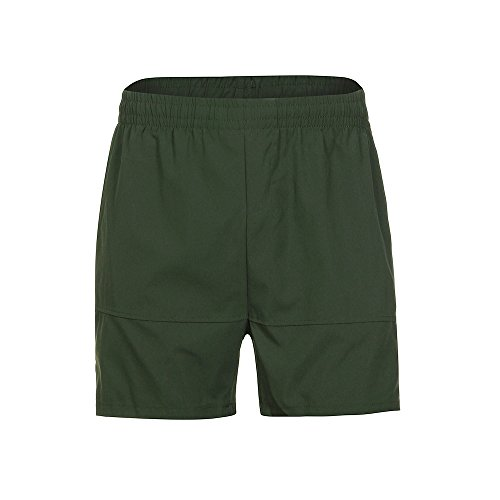 Herren Shorts Herren Freizeithosen Gymnastik Casual Sport Jogging Elastische Taille Shorts Hosen Summer kurz Sporthose (Armeegrün,L)