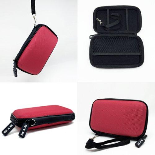 MAK(TM) Custodia per hard-disk esterno, fino a 2,5'' (6,35 cm), colore: red