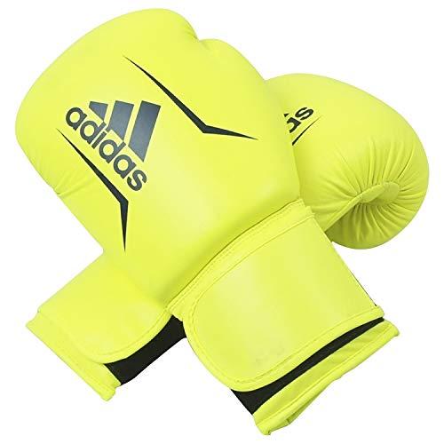 adidas Erwachsene Speed 50-gelb/blau 12 oz adiSBG50 Boxhandschuhe