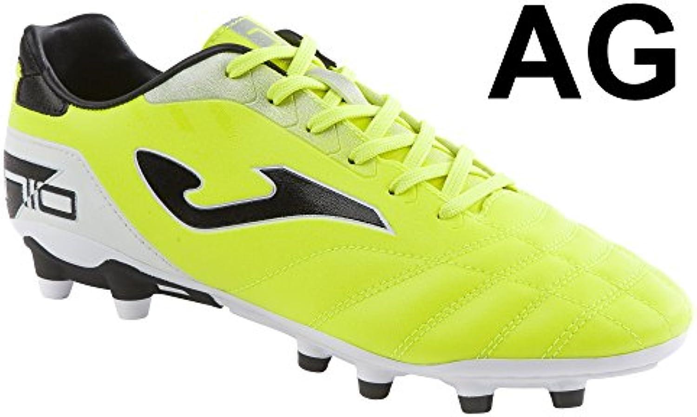 Bota de fútbol Joma N-10 AG Solar Yellow
