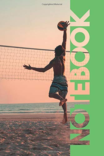 Notebook: Beach Volleyball Professional Composition Notebook for Voleibol de Playa Players por Molly Elodie Rose