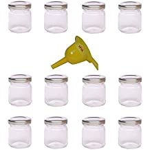 Viva Haushaltswaren - Tarros de cristal para mermelada de tamaño mini (12 unidades, 53