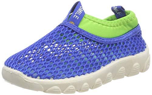 Sandalen Geschlossen Kinder Sommer Schuhe Baby Atmungsaktiv Badeschuhe Mesh Lauflernschuhe Unisex Jungen Mädchen Blau22