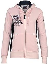 Geographical Norway sweat jacket Friponette Lady