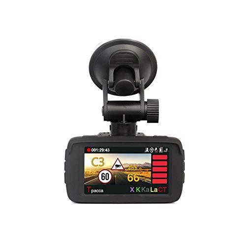 Calistouk KFZ-Kamera HD1080P 3-in-1 LCD-Display, GPS-Tracker, Radar-Detektor, 170 Grad Winkel, Auto-DVR, Fahren, Video Dashcam Recorder Logger (Gps-radar-detektor)