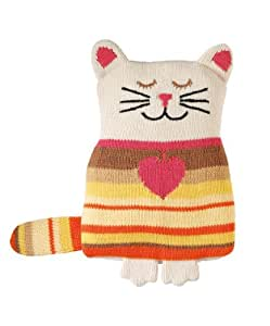 Aroma Home Animal Hotties Microwavable Knitted Cat Body Warmer